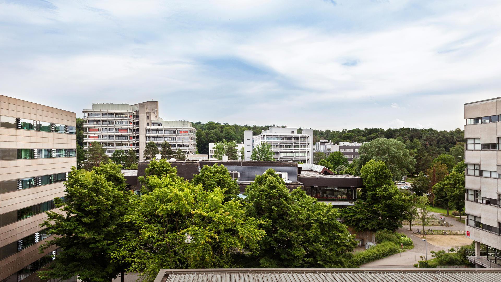 Campus der TU Darmstadt (Foto: Alex Fischer)
