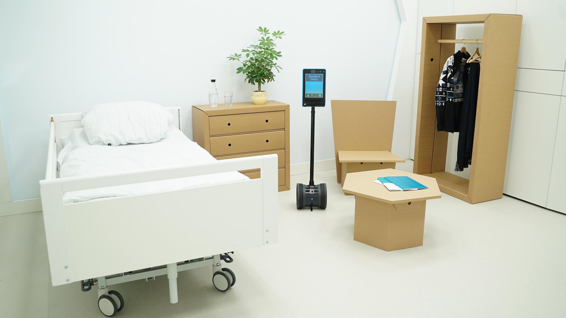 Innovation Hub für digital unterstützte Gesundheitsversorgung (Foto: DELH)