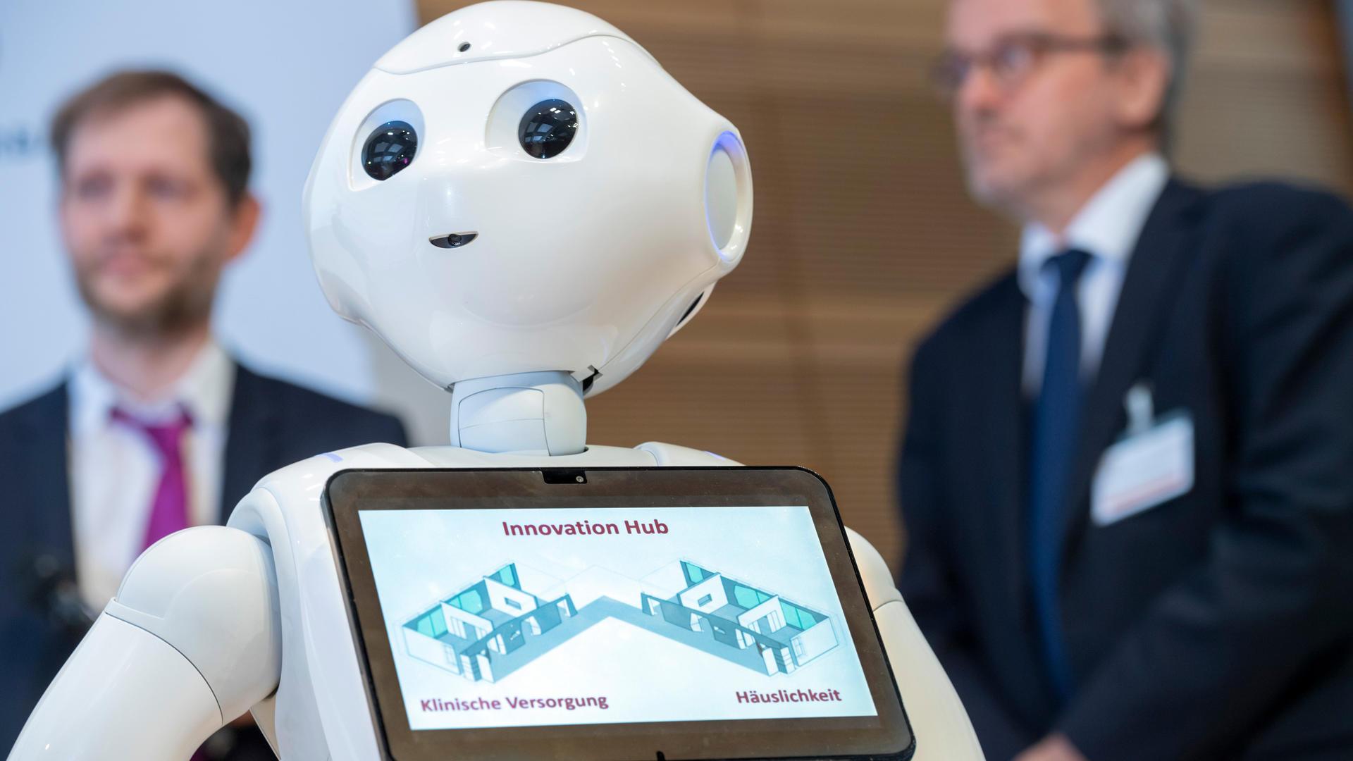 Der humanoide Roboter Thea (Foto: David Ausserhofer)