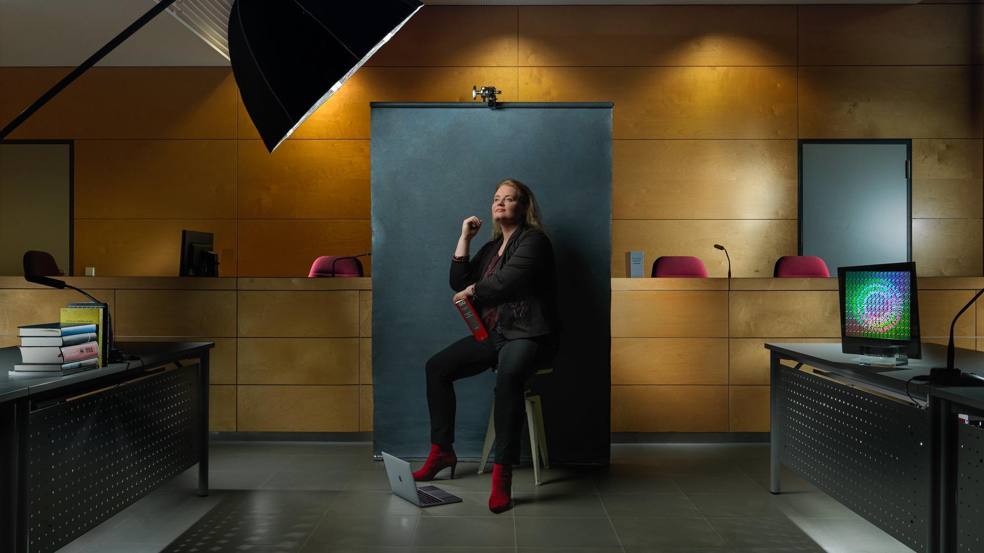 Communicator-Preisträgerin Katharina Zweig (Foto: Christian Bohnenkamp)