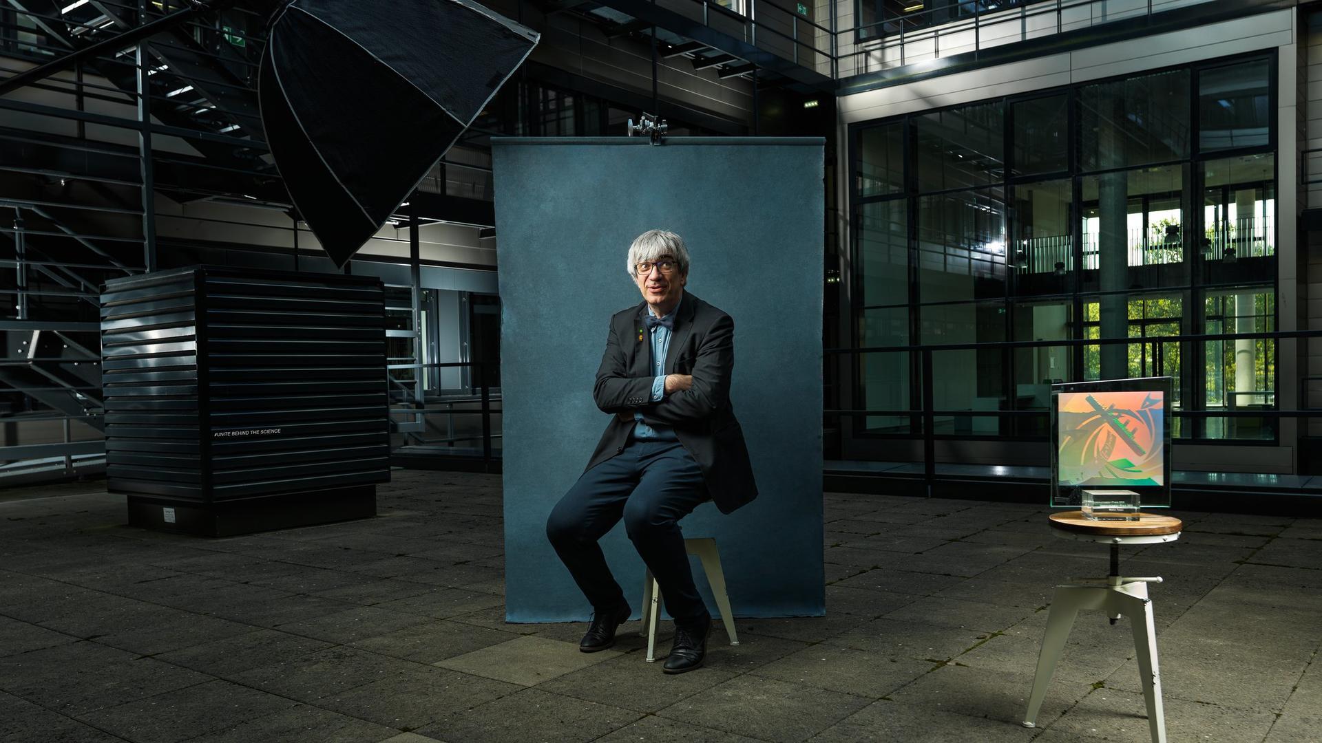Communicator-Preis Metin Tolan (Foto: Christian Bohnenkamp)