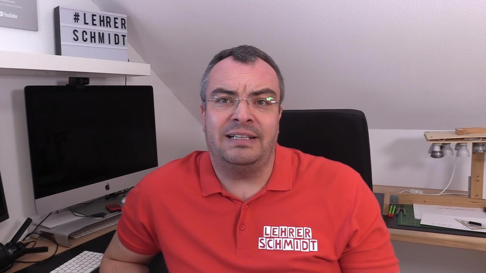 Kai Schmidt auf seinem YouTube-Kanal (Foto:Screenshot)