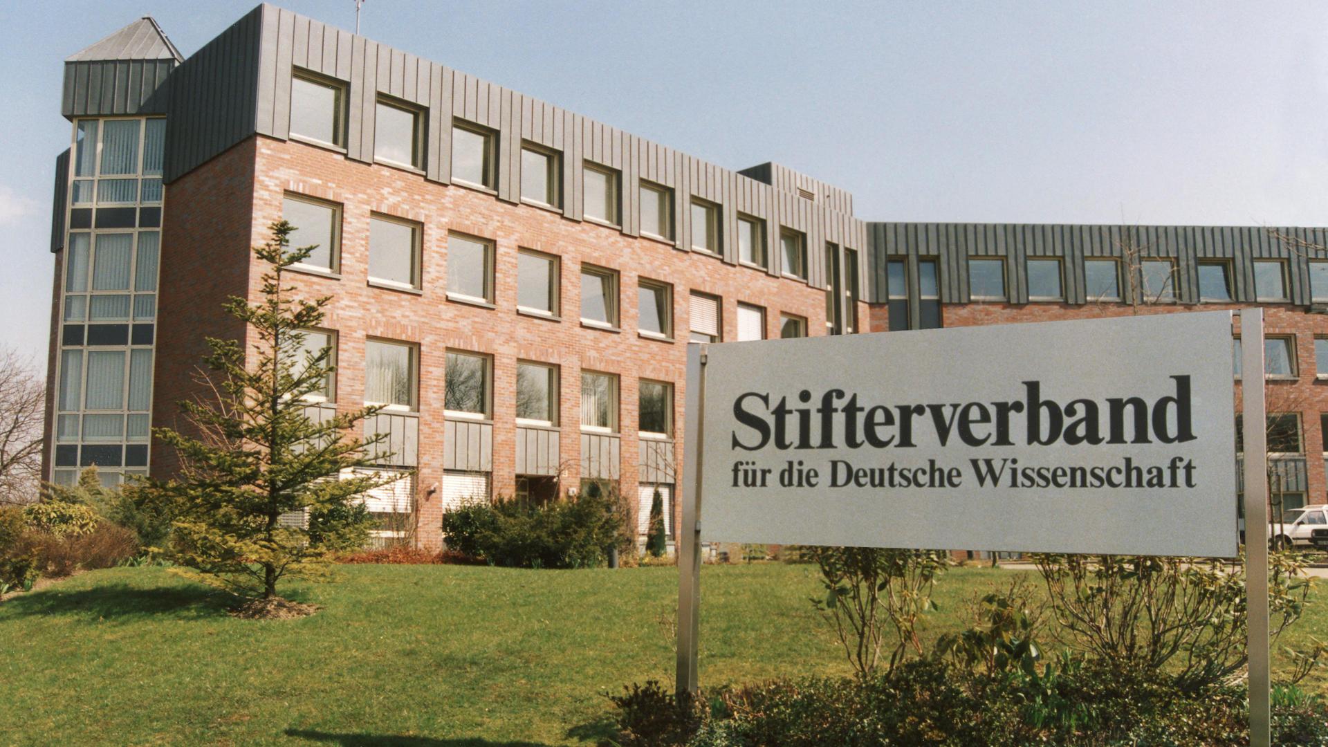 Hauptsitz des Stifterverbandes (Foto: Jörg Wenk/Stifterverband)